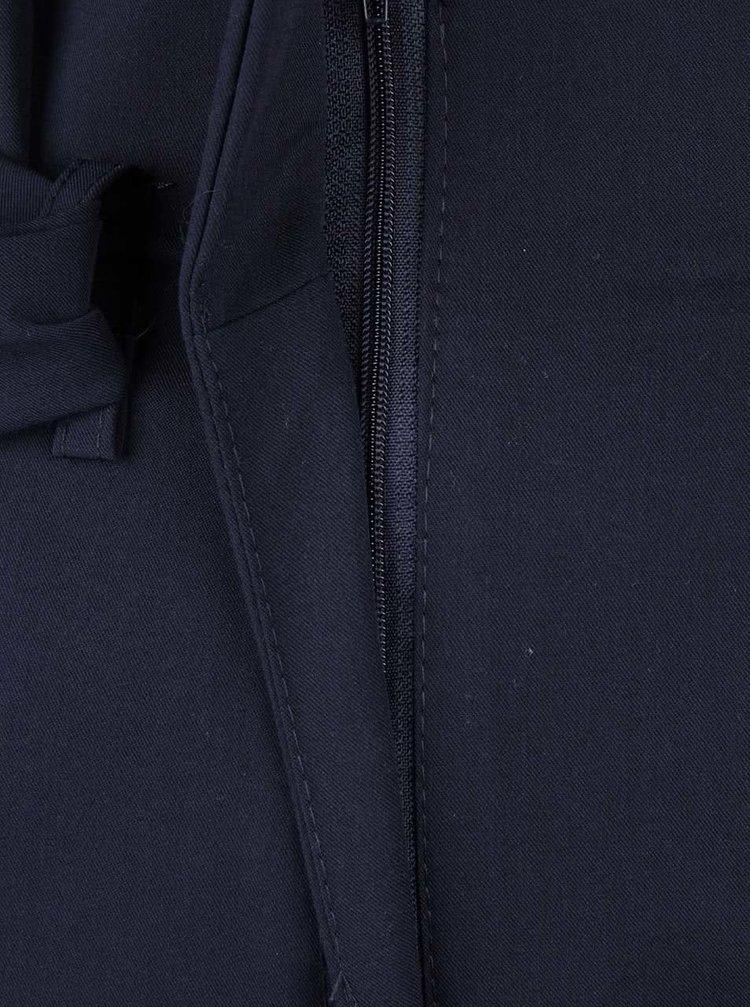 Pantaloni bleumarin Haily´s Vanny cu talie înaltă