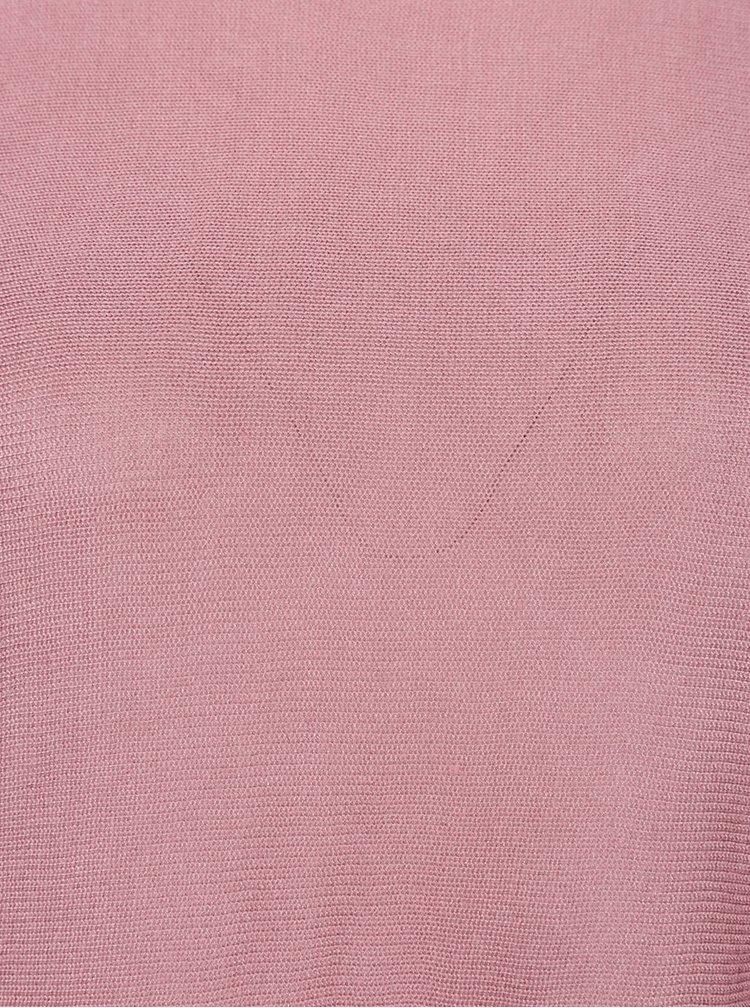 Ružový sveter VERO MODA Rubi