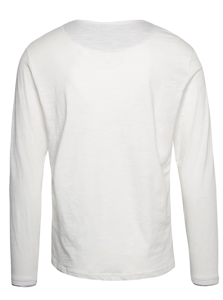 Bluză crem Blend cu nasturi