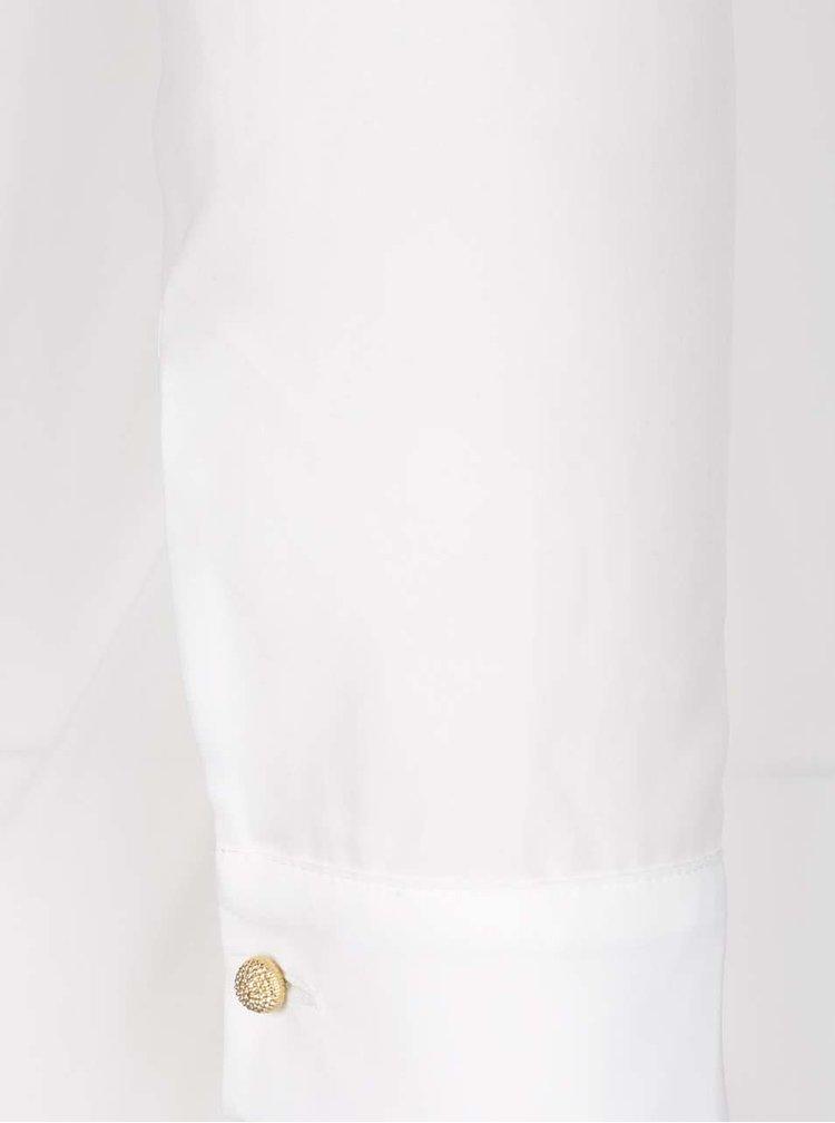 Krémová blúzka s dlhým rukávom Rich & Royal