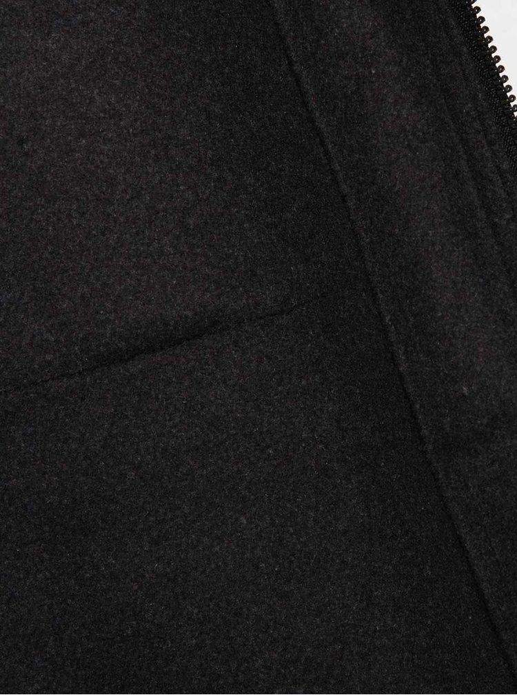 Tmavě šedá pánská bunda Casual Friday