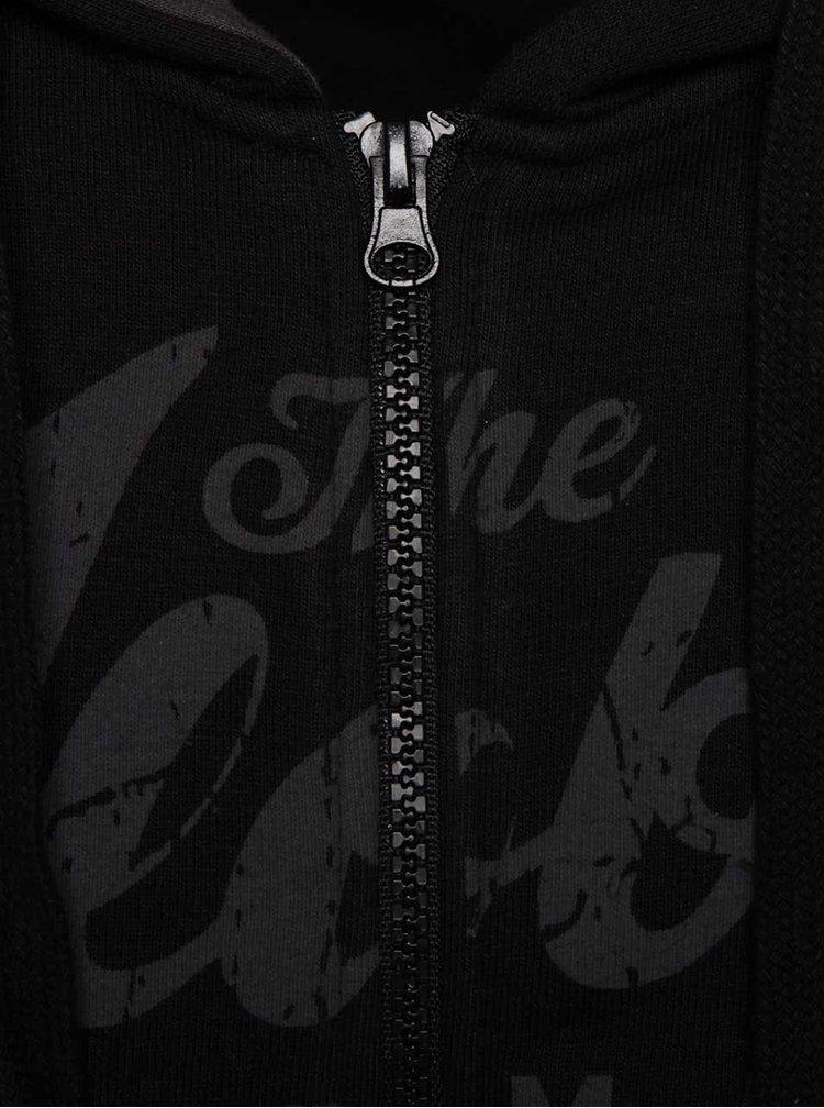 Černá mikina s nápisem Blend