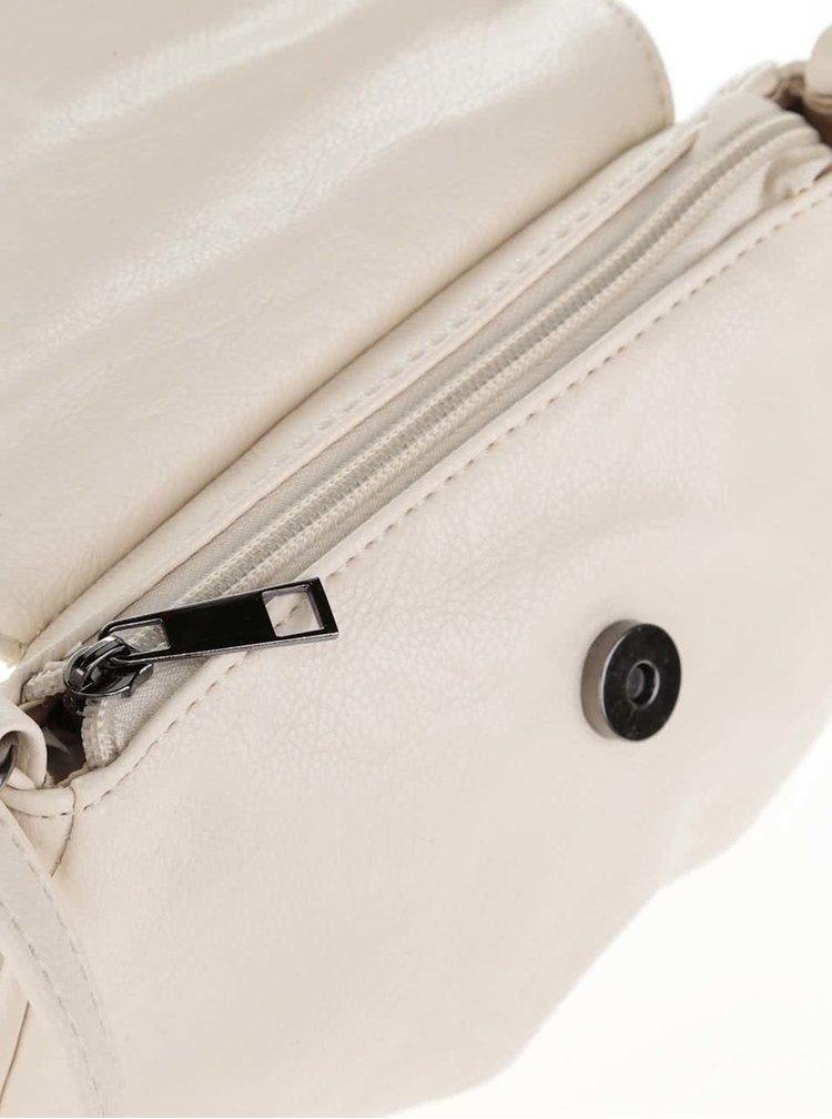 Krémová crossbody kabelka Haily´s Maria