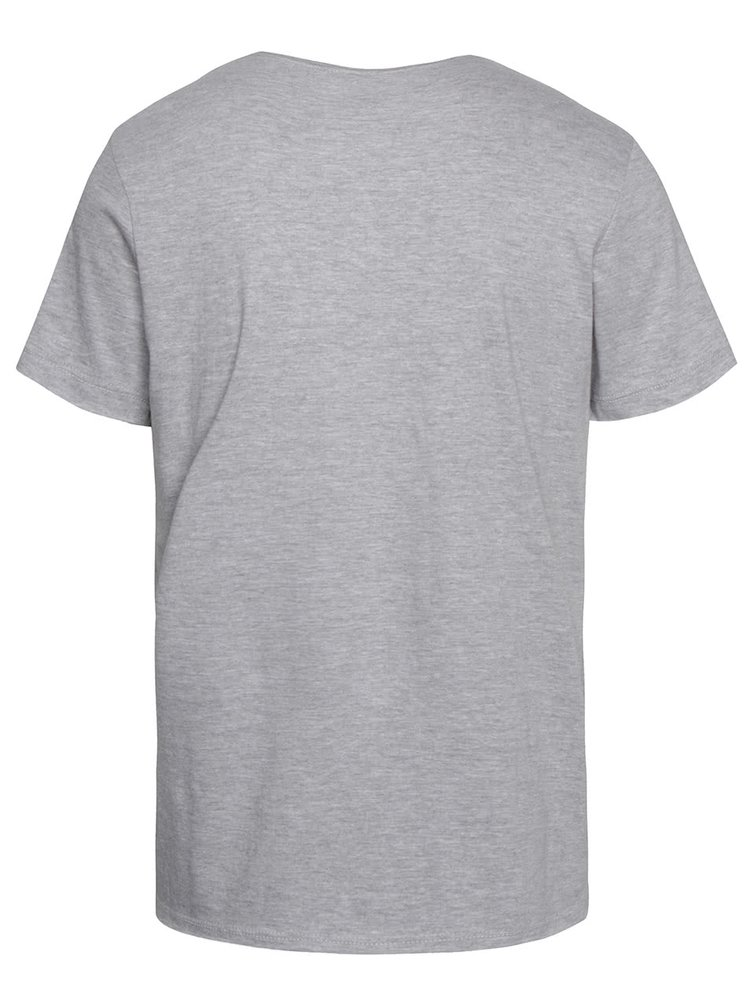 Tricou gri cu imprimeu Blend