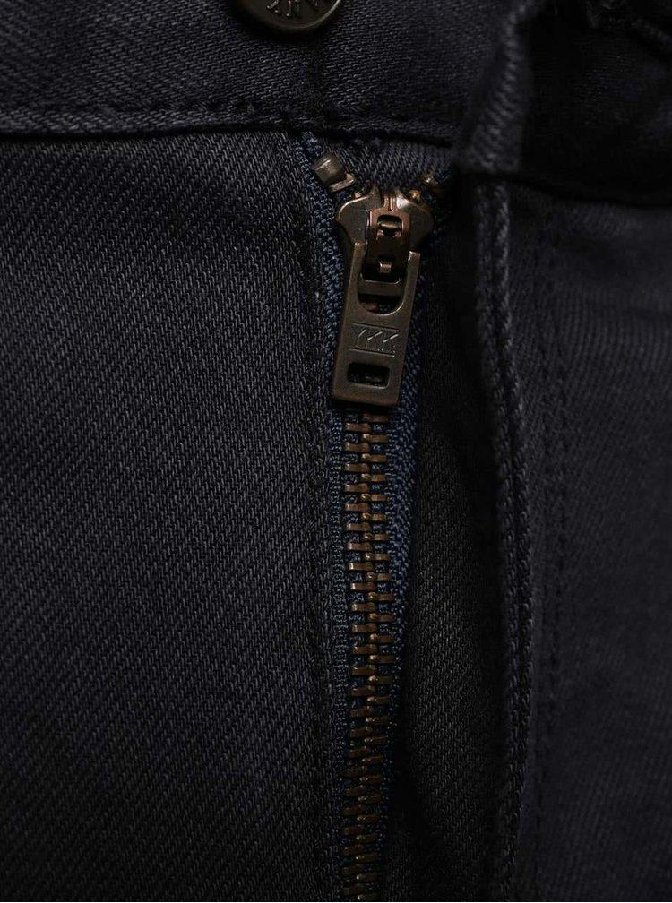 Modré pánské džíny s páskem s.Oliver