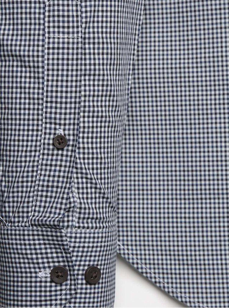 Šedá pánská vzorovaná košile Casual Friday