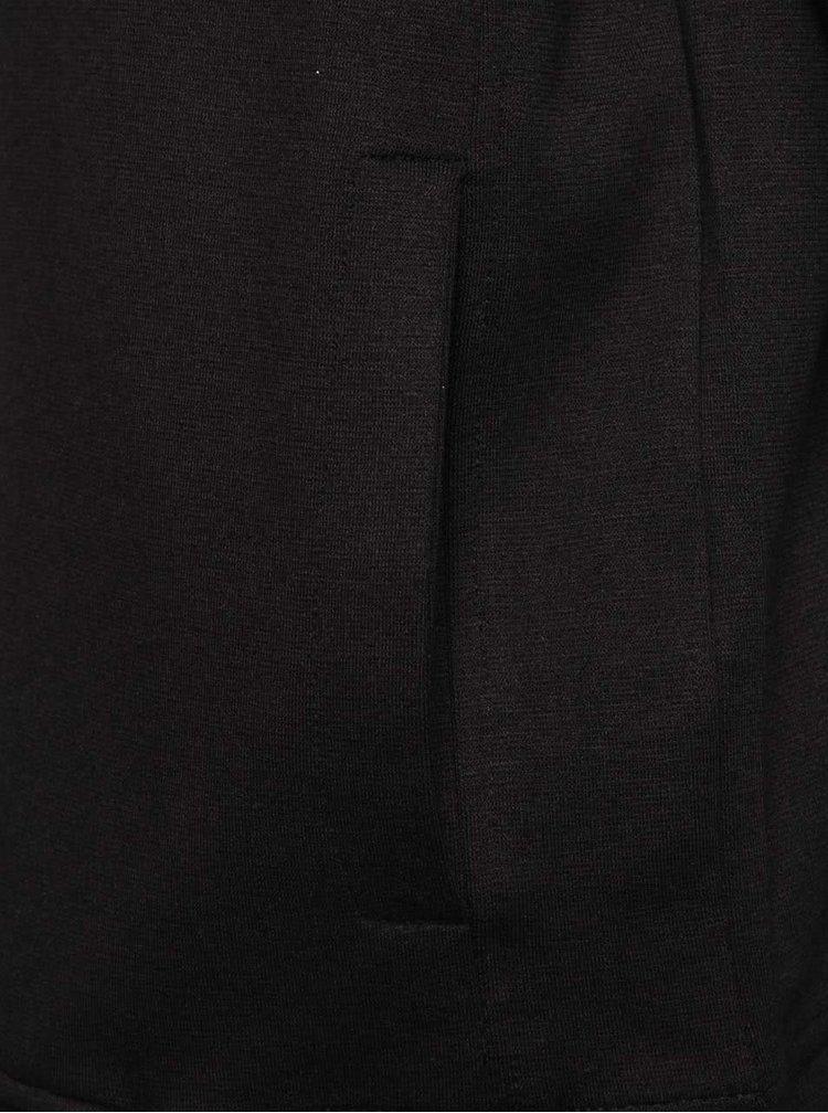 Čierna mikina na zips s kapucňou ONLY & SONS Holden