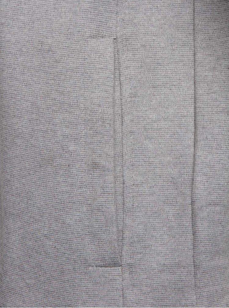 Sivá mikina na zips a s kapucňou ONLY & SONS Holden