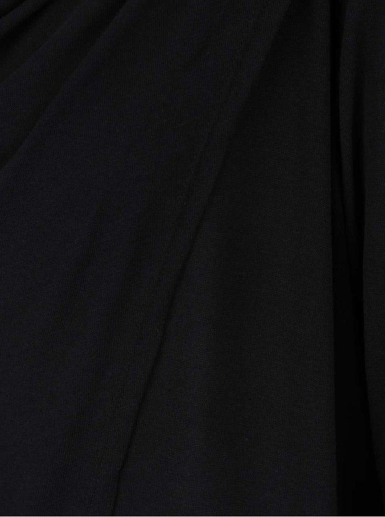 Čierne dámske tričko s dlhým rukávom PEP Famous