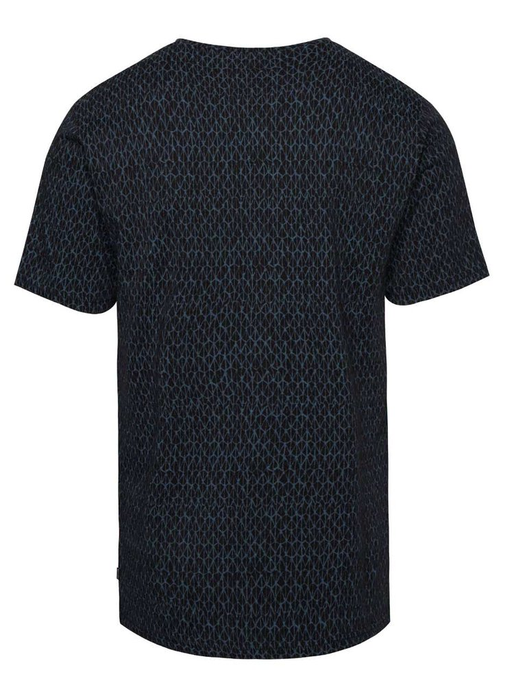 Černé vzorované triko ONLY & SONS Ancher