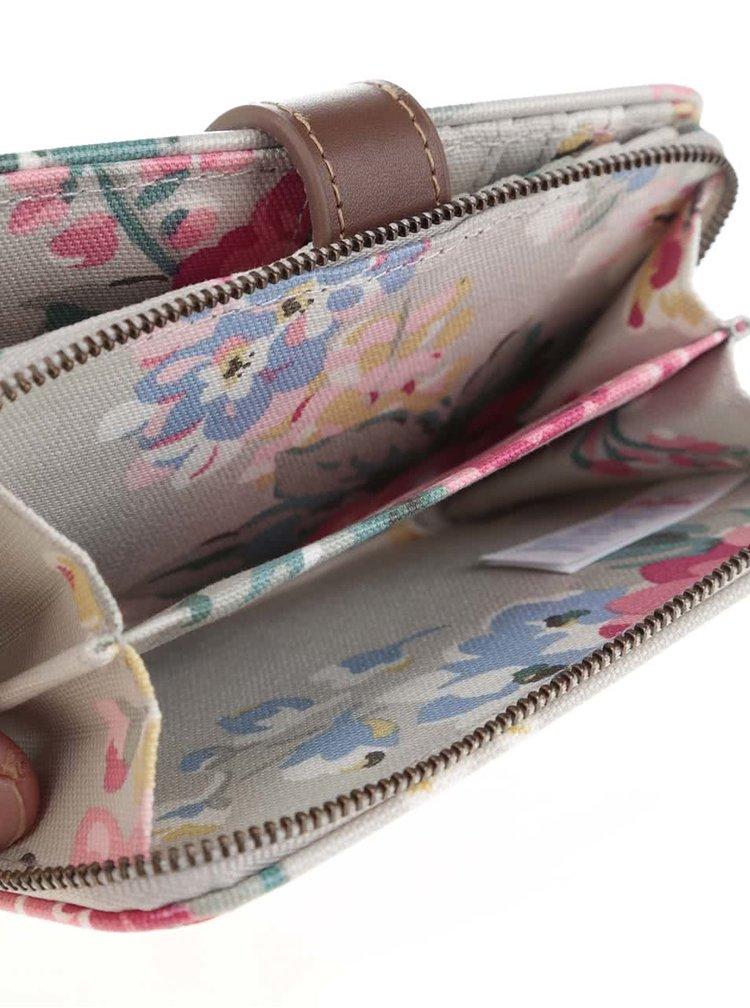 Sivá kvetovaná peňaženka Cath Kidston