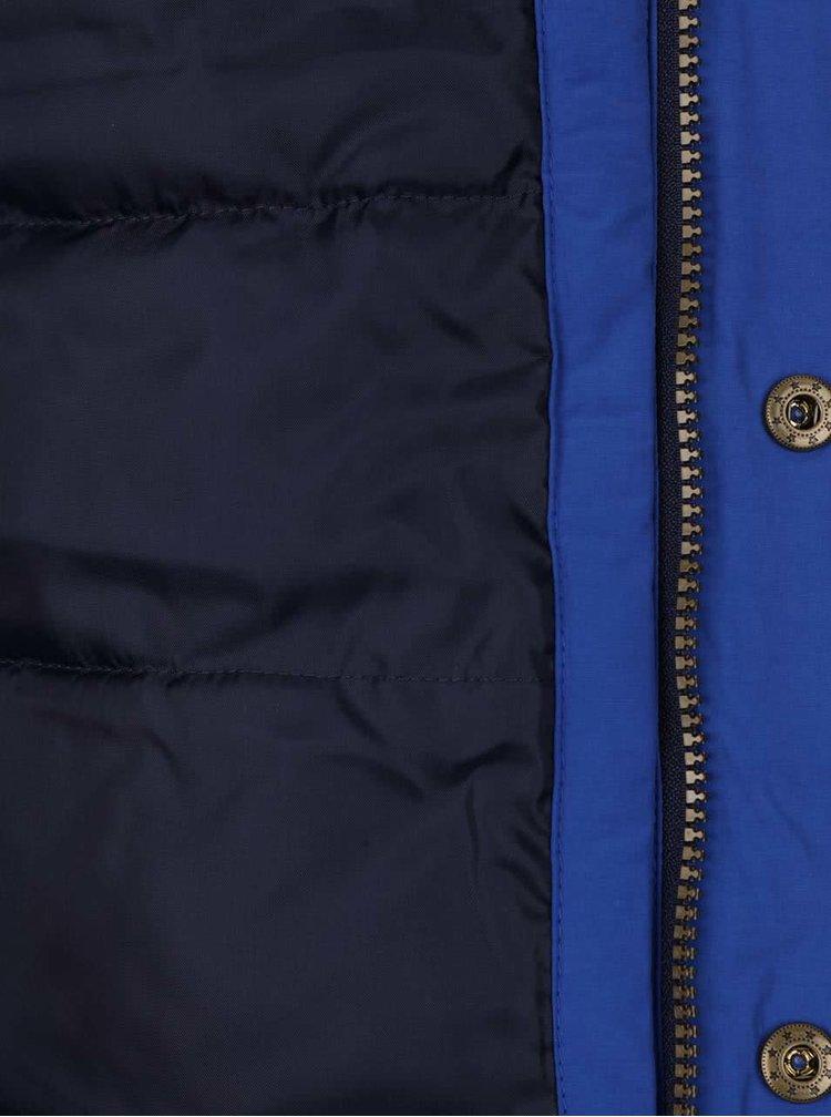 Tmavě modrá klučičí bunda Tom Joule Blerside