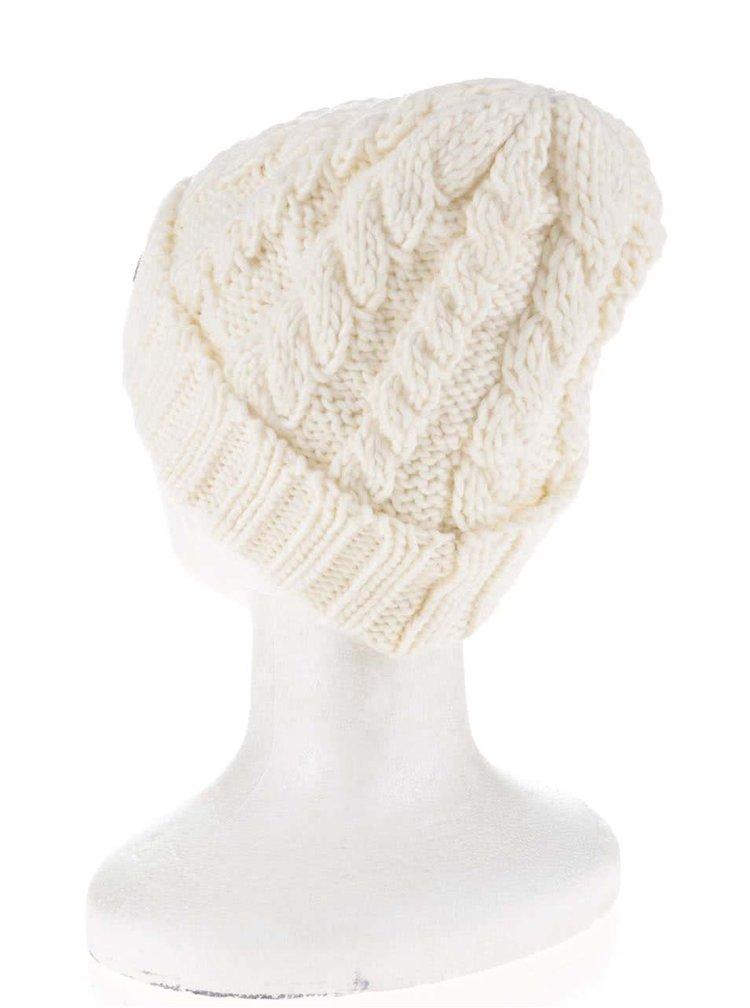 Krémová pletená čiapka Roxy Tram