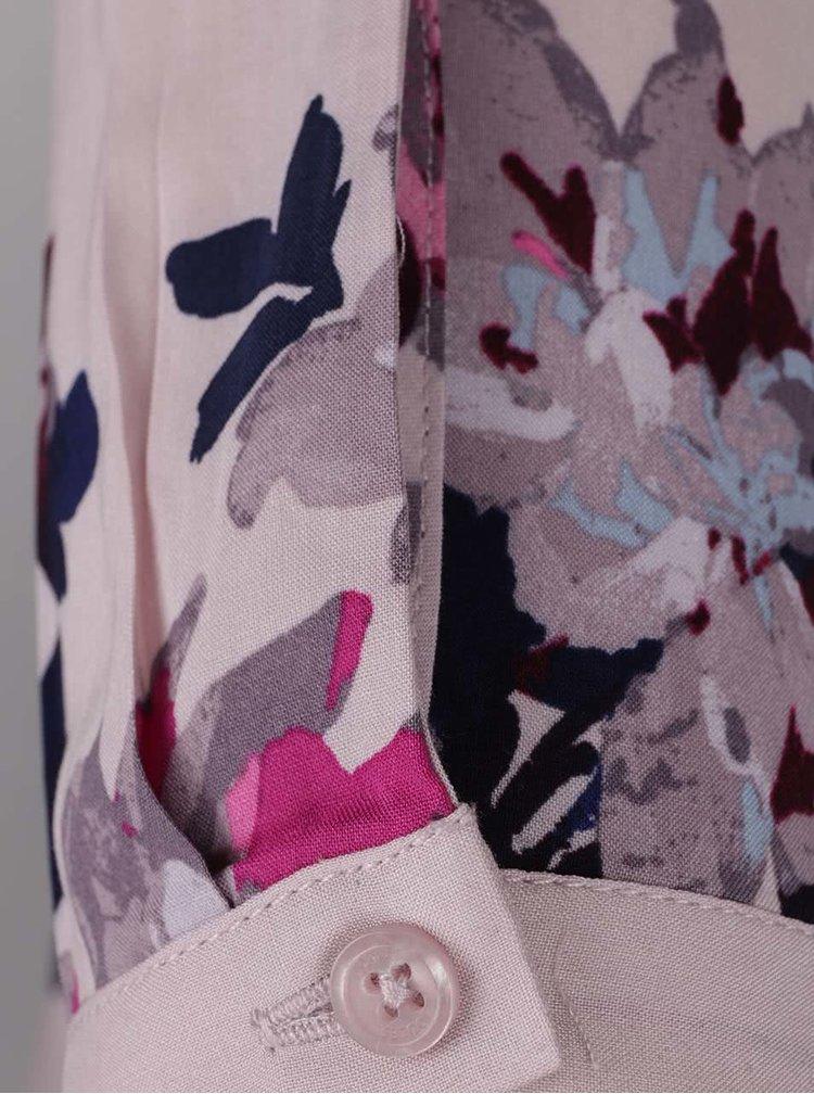 Světle růžová dámská květovaná halenka Tom Joule Rosamund