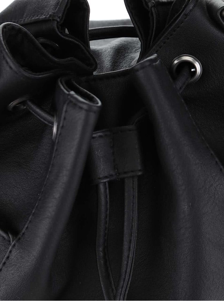 Čierna crossbody kabelka Roxy Time