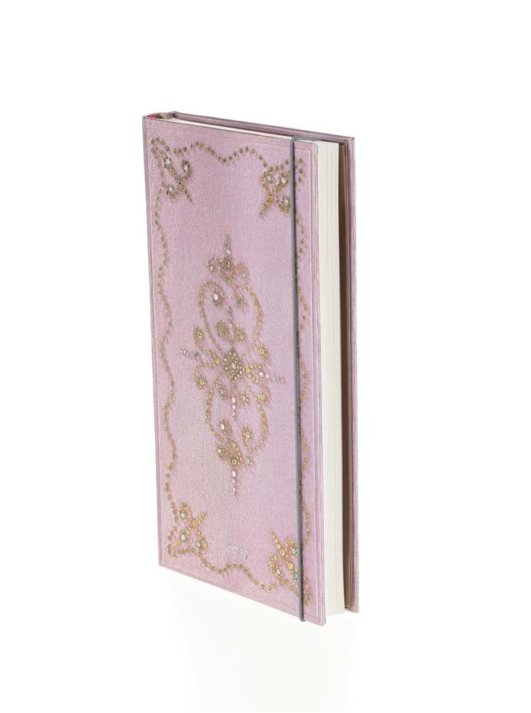 Agenda Paperblanks Cotton Candy Slim 2017