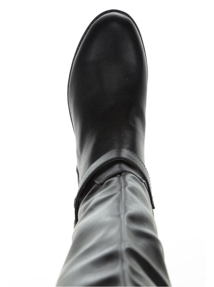 Cizme inalte negre ALDO Biverone