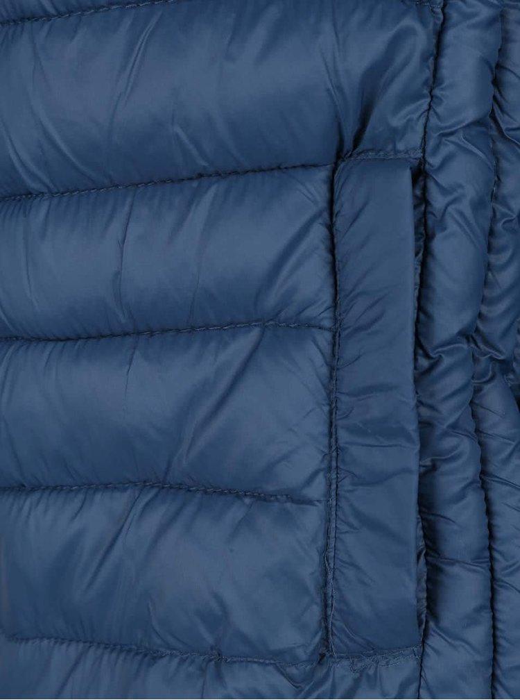 Tmavě modrá lehká prošívaná bunda Jack & Jones Push