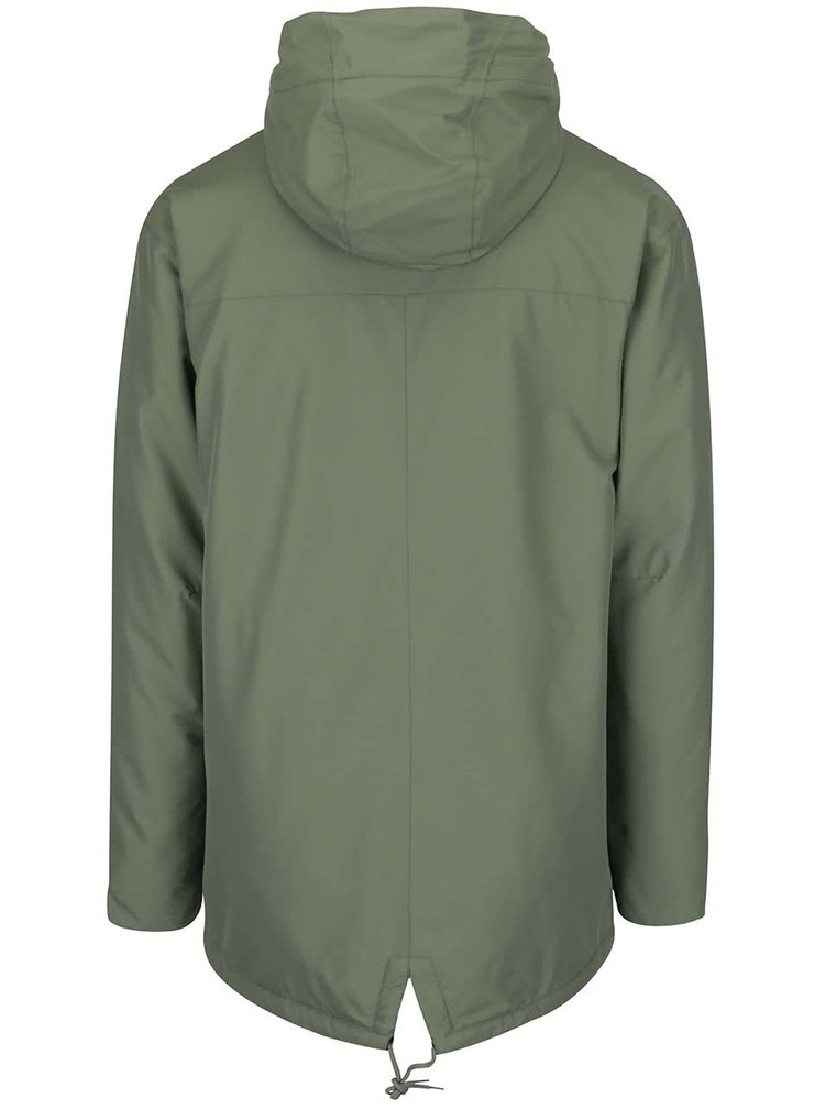Zelená pánská bunda s kapucí Horsefeathers Karluk