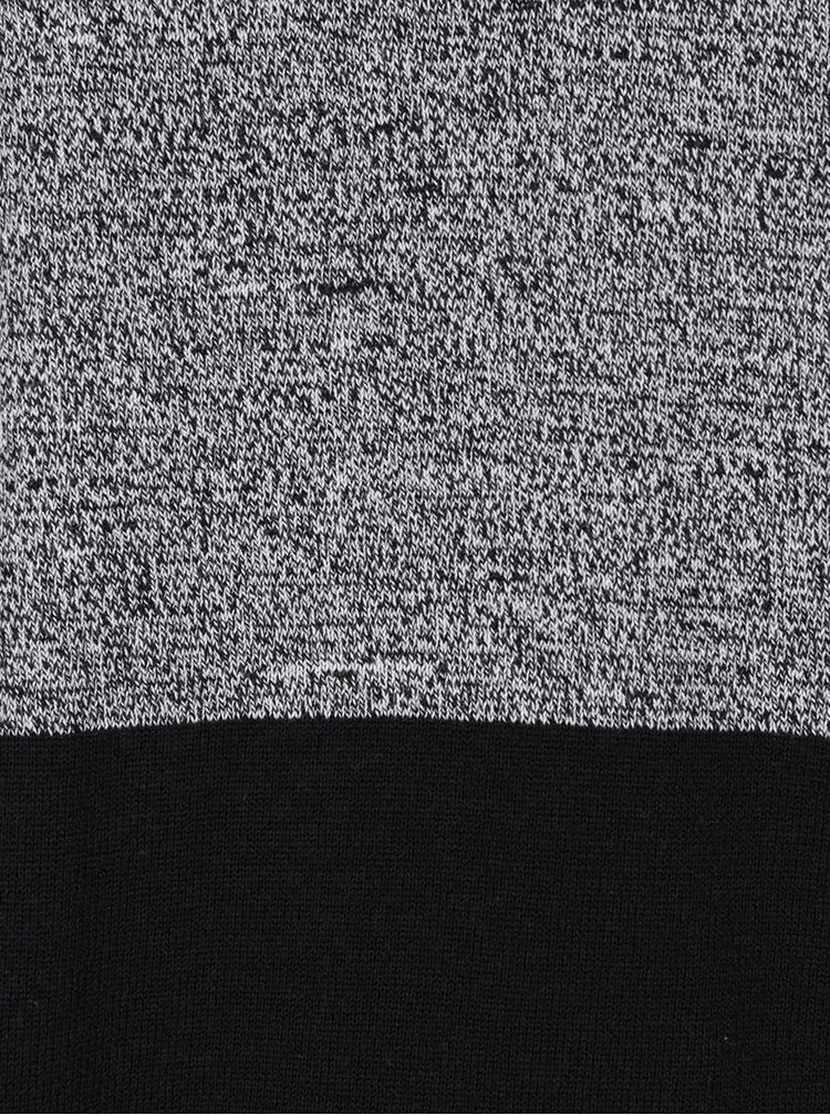 Šedo-černý svetr Jack & Jones Lee