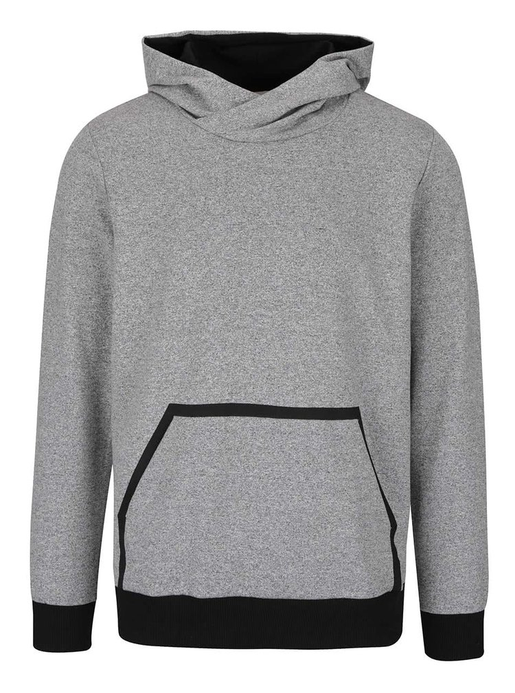 Hanorac gri Jack & Jones Wallen cu model discret