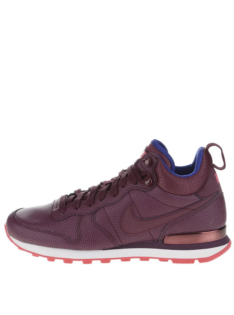 Pantofi sport vișinii Nike Internationalist Mid Leather de damă