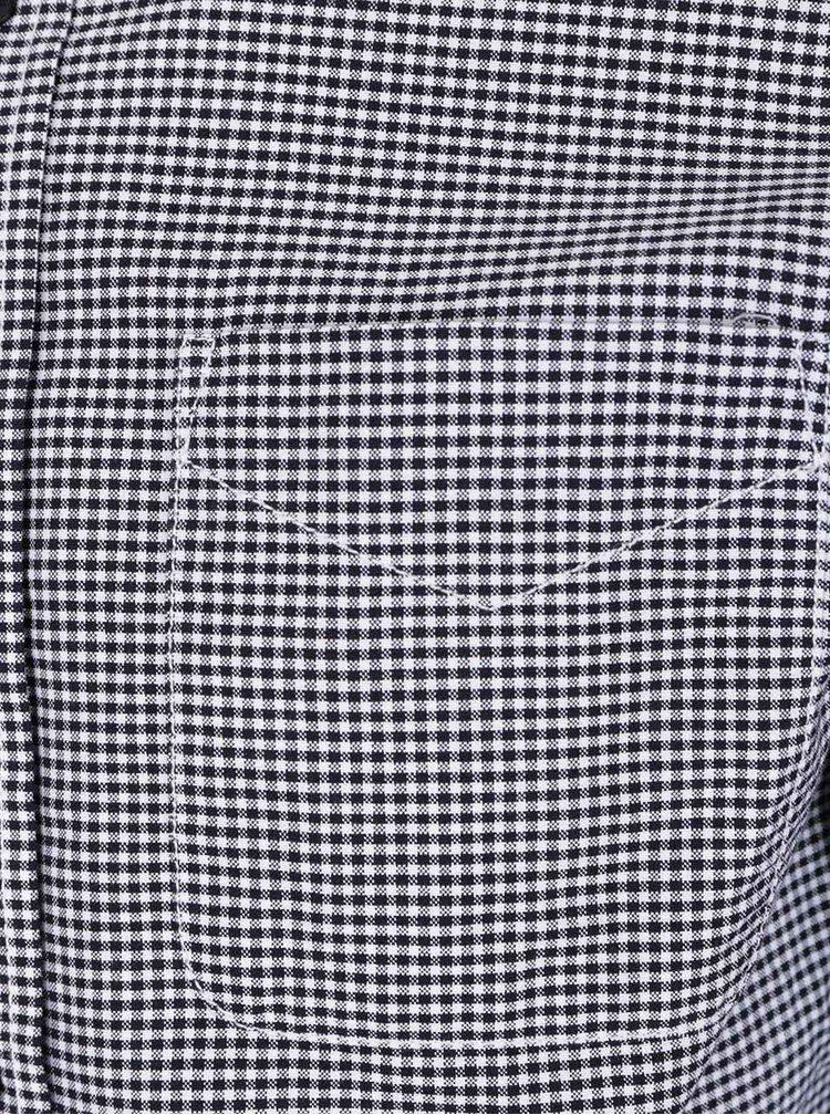 Cămașă alb & negru Jack & Jones Charlie din bumbac cu model discret