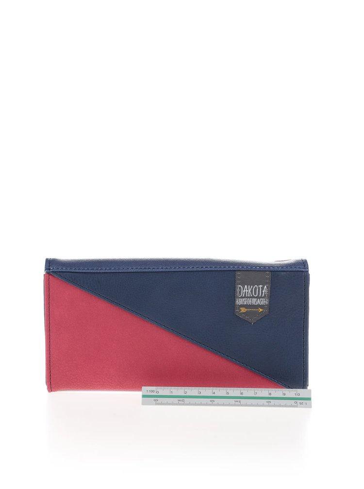 Tmavě modrá peněženka s barevnými detaily Disaster Dakota
