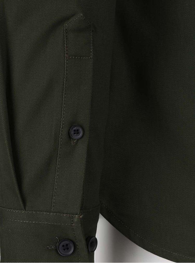Tmavozelená ľahká bunda ONLY & SONS Utility
