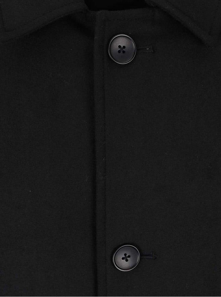 Palton negru Jack & Jones City