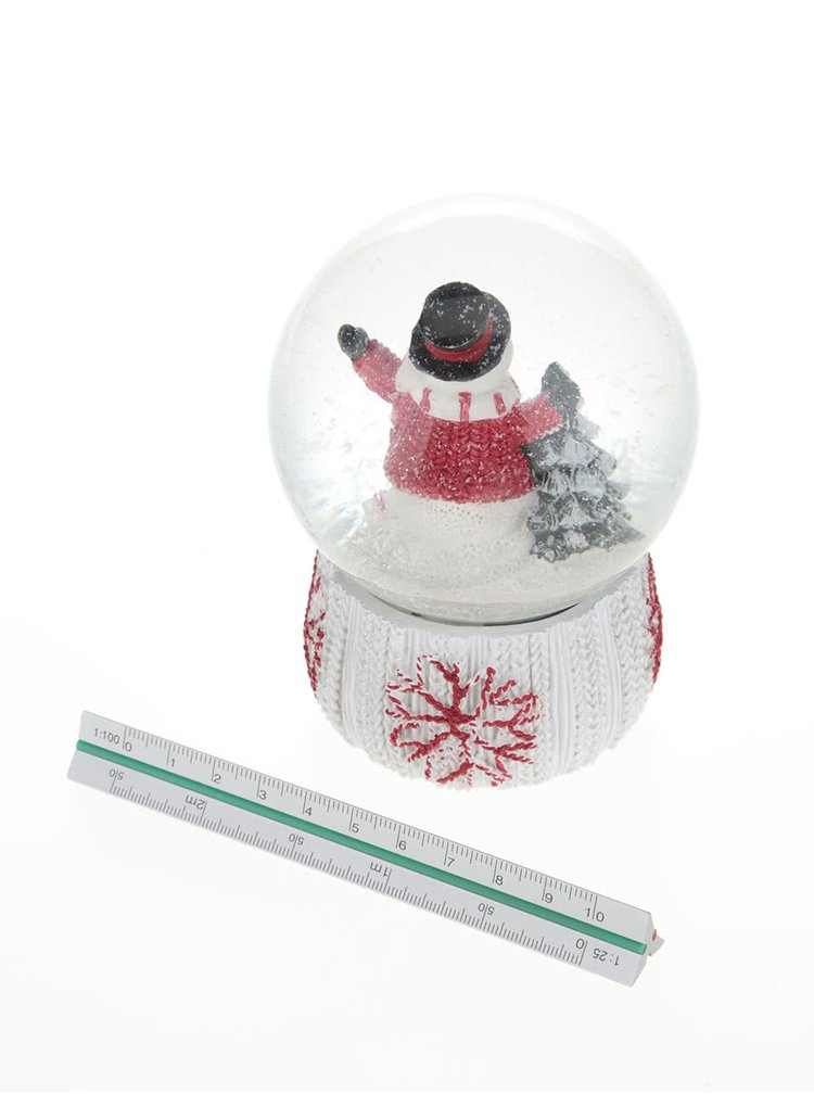 Bílé sněžítko se sněhulákem Dakls
