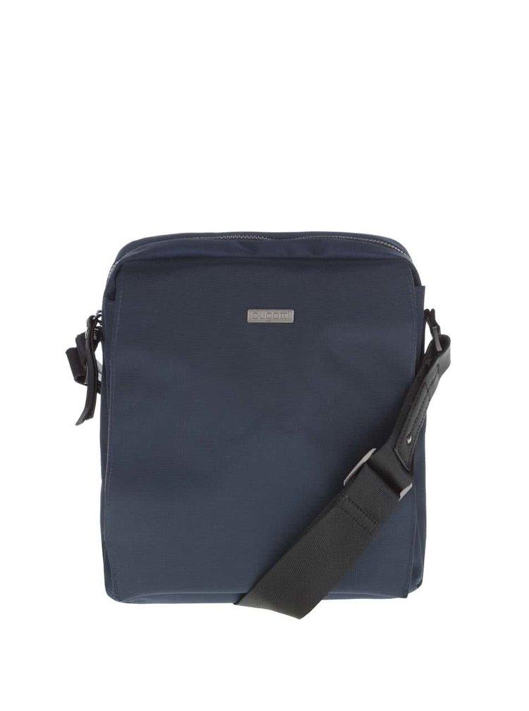 Tmavě modrá pánská crossbody taška bugatti Contratempo