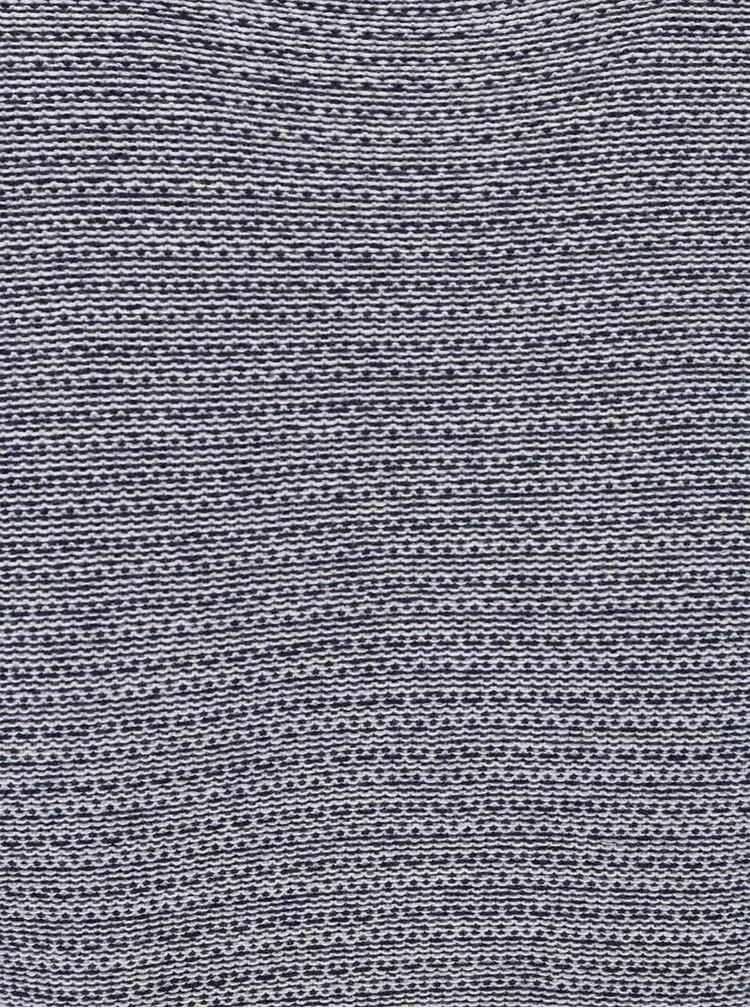 Krémovo-modrý lehký svetr s jemným vzorováním Jack & Jones Abraham