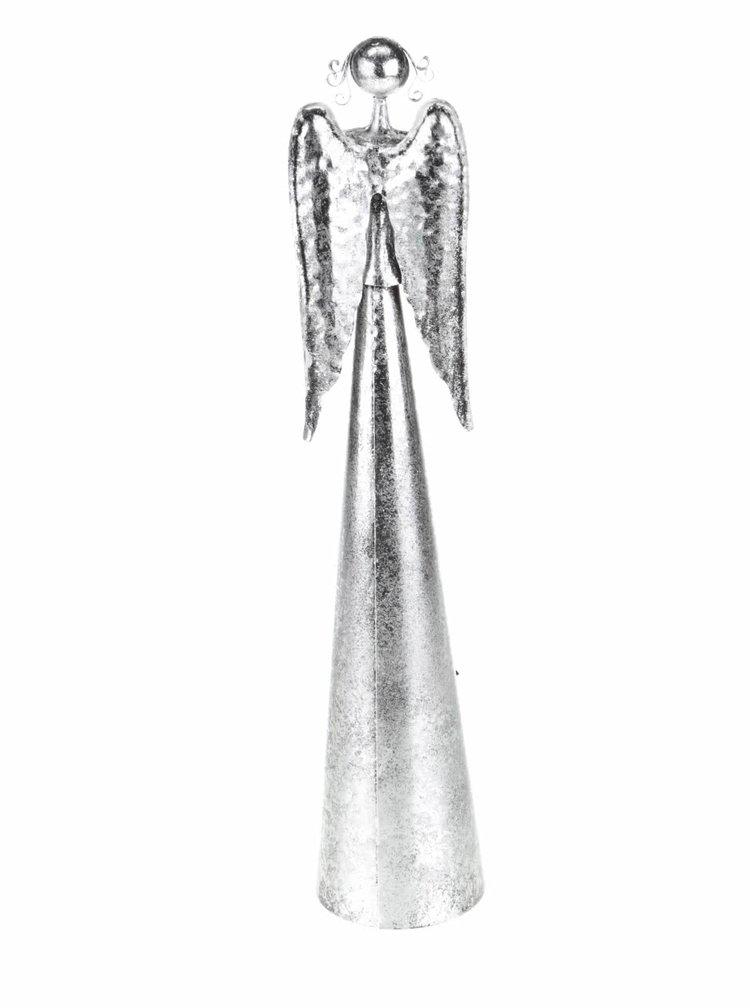 Šedý středně velký anděl s hvězdami Dakls