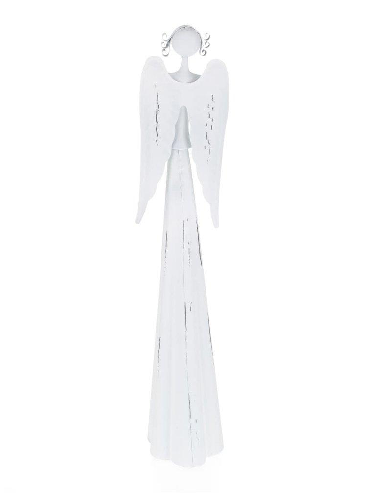 Decoratiune Dakls in forma de inger alb