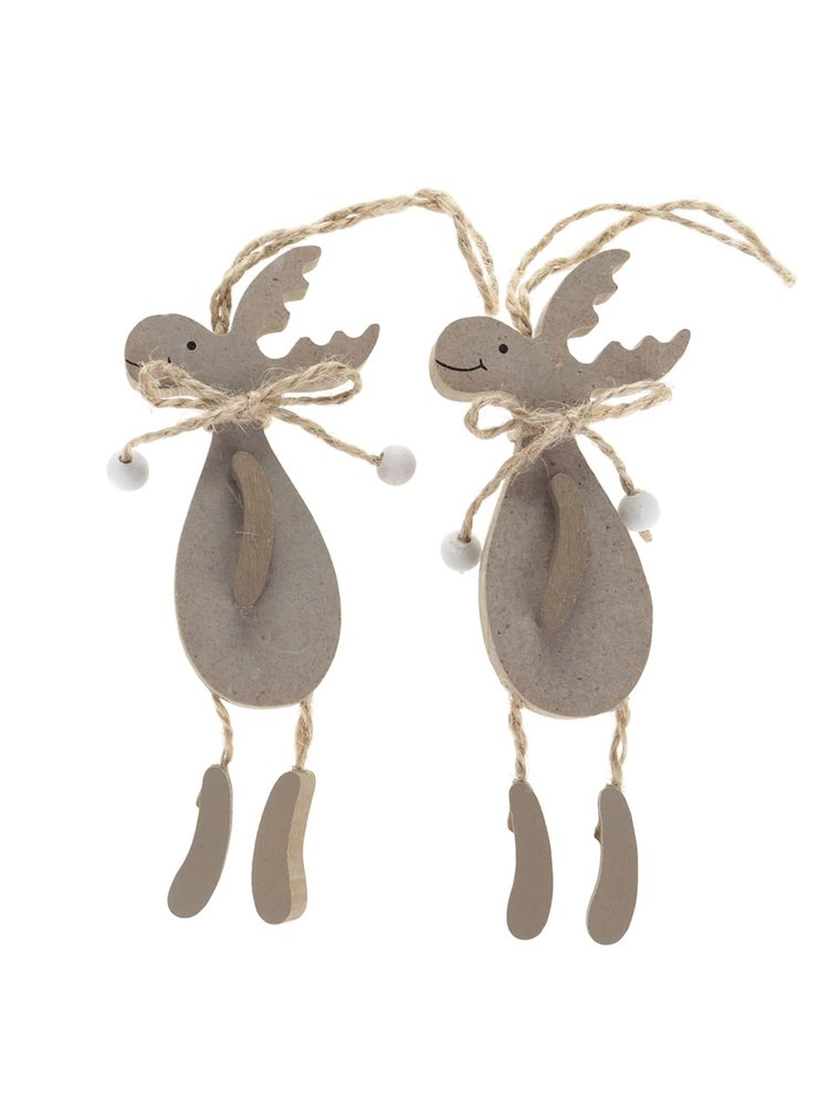 Set de 2 decorațiuni Dakls în formă de ren