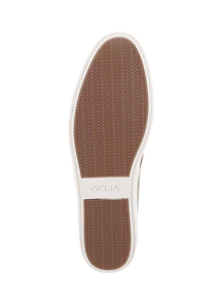 Hnědé pánské kožené tenisky ALDO McGourty