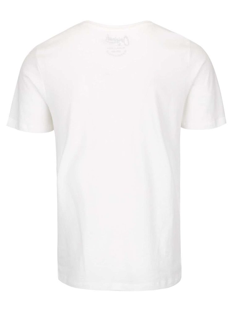 Krémové triko s potiskem Jack & Jones Funbox