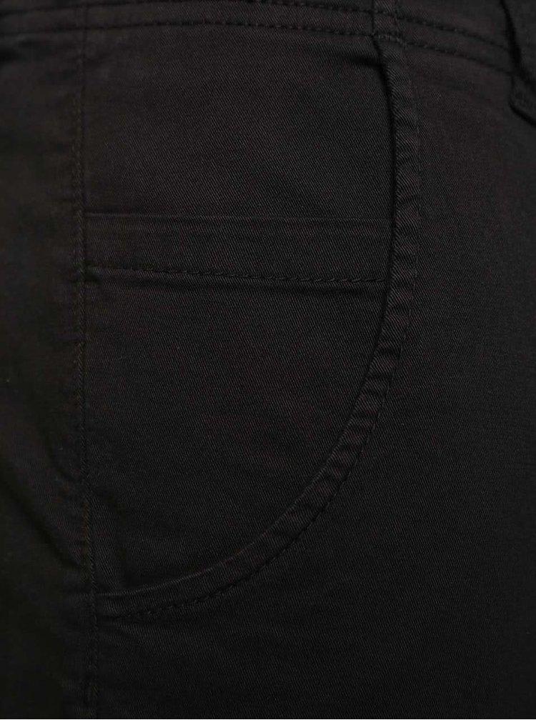 Černé kalhoty s kapsami Jack & Jones Paul