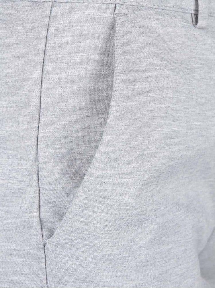 Svetlosivé voľnejšie nohavice VILA Riasta