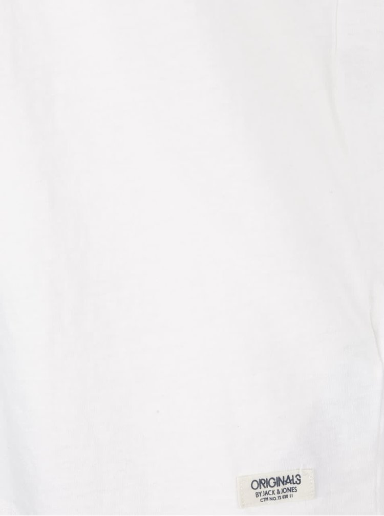 Krémové tričko Jack & Jones Wolf