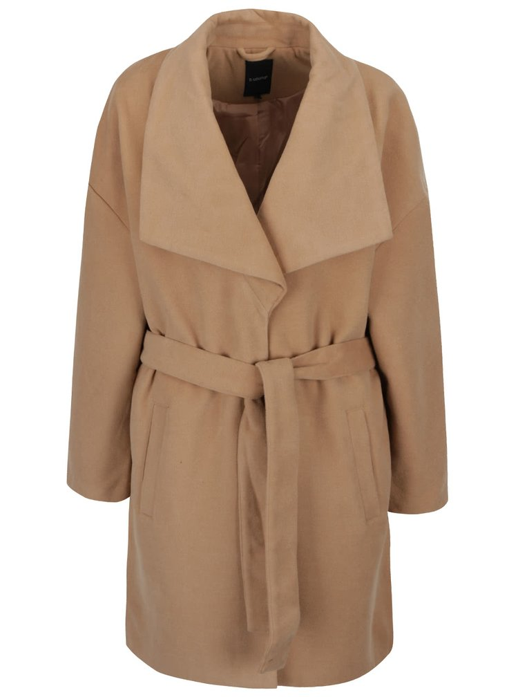 Béžový kabát b.young