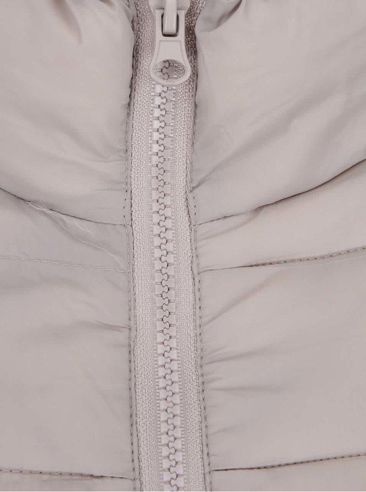 Béžová prošívaná bunda Ibix b.young