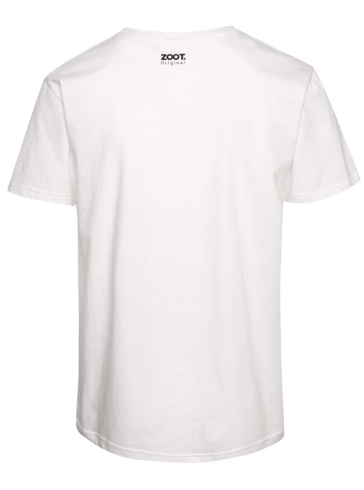 Biele pánske tričko s potlačou ZOOT Originál I Love Maminka