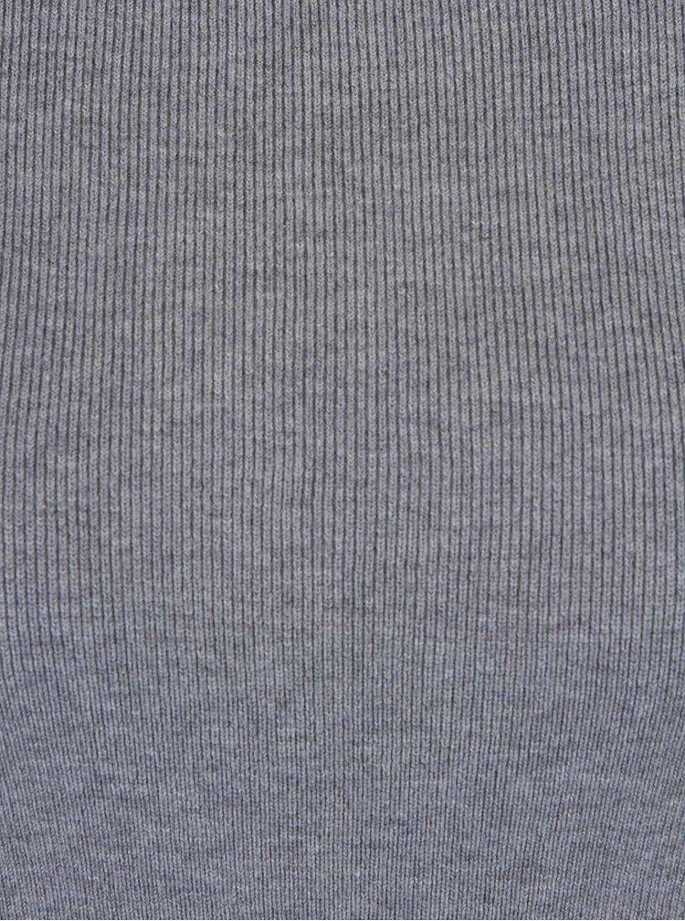 Sivé tričko s dlhým rukávom Haily´s Karen