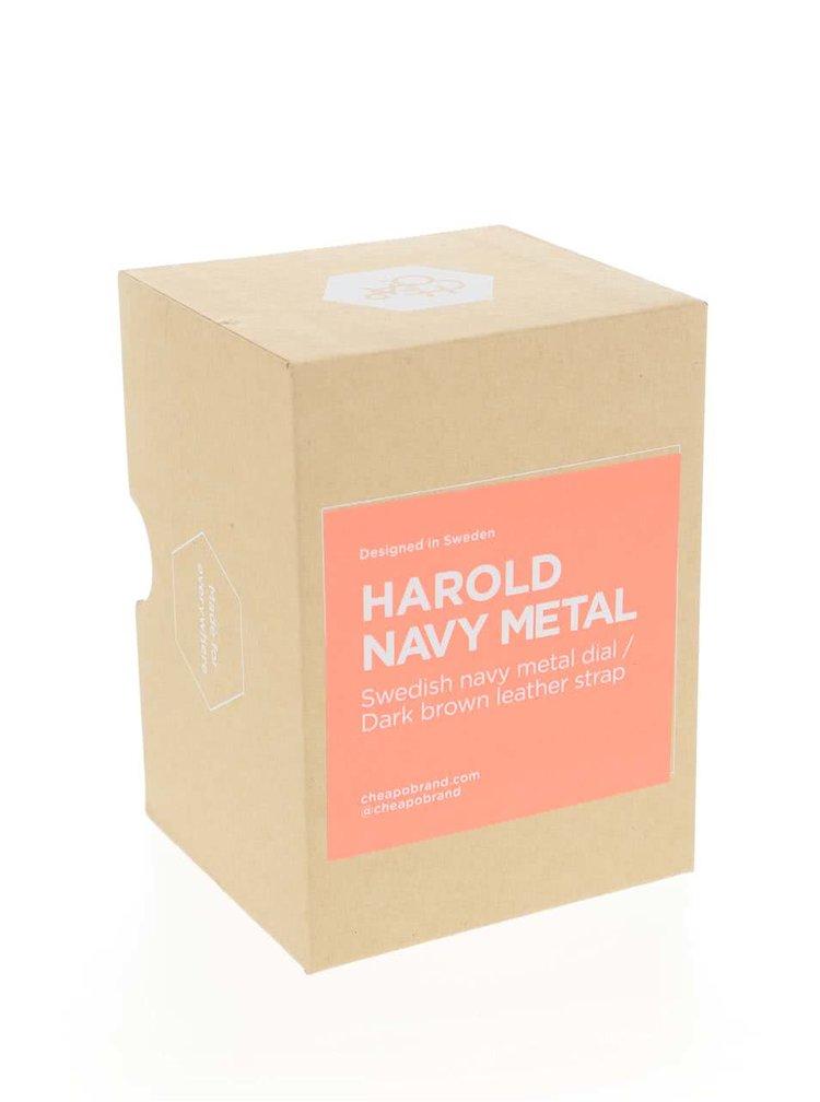 Ceas maro CHPO Harold Navy Metal unisex