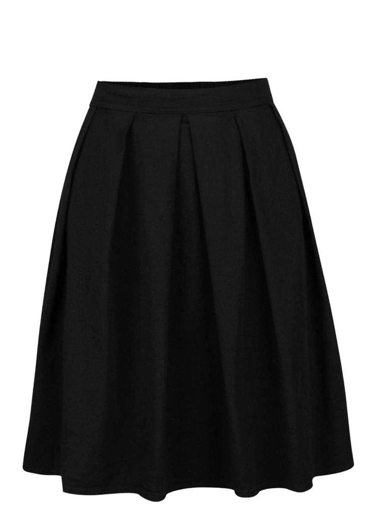 Černá skládaná sukně ZOOT