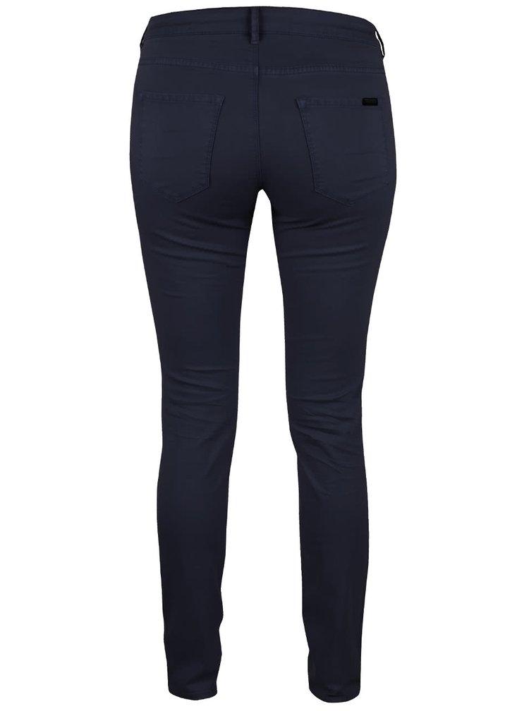 Pantaloni skinny bleumarin Maison Scotch