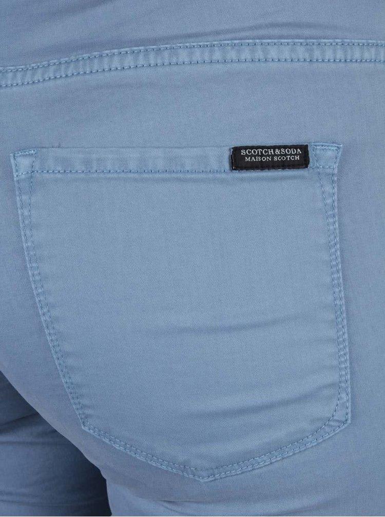 Světle modré skinny kalhoty Scotch & Soda