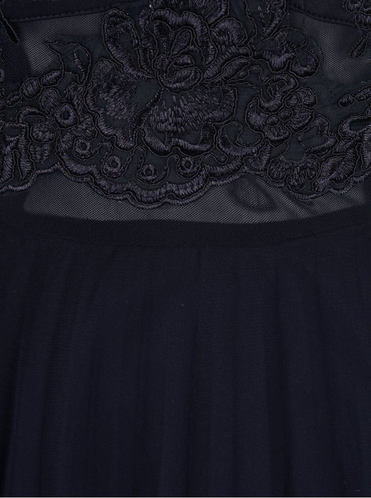 Rochie albastru închis AX Paris din dantelă